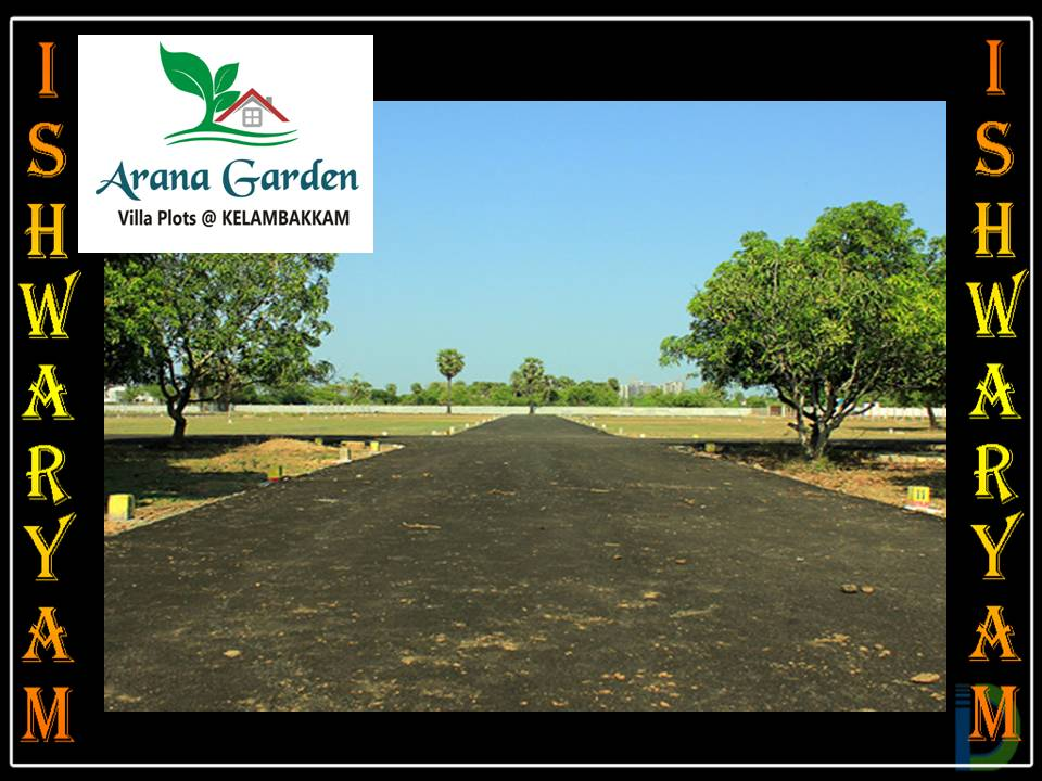 DTCP approved plots in Kelabakkam,Chennai.