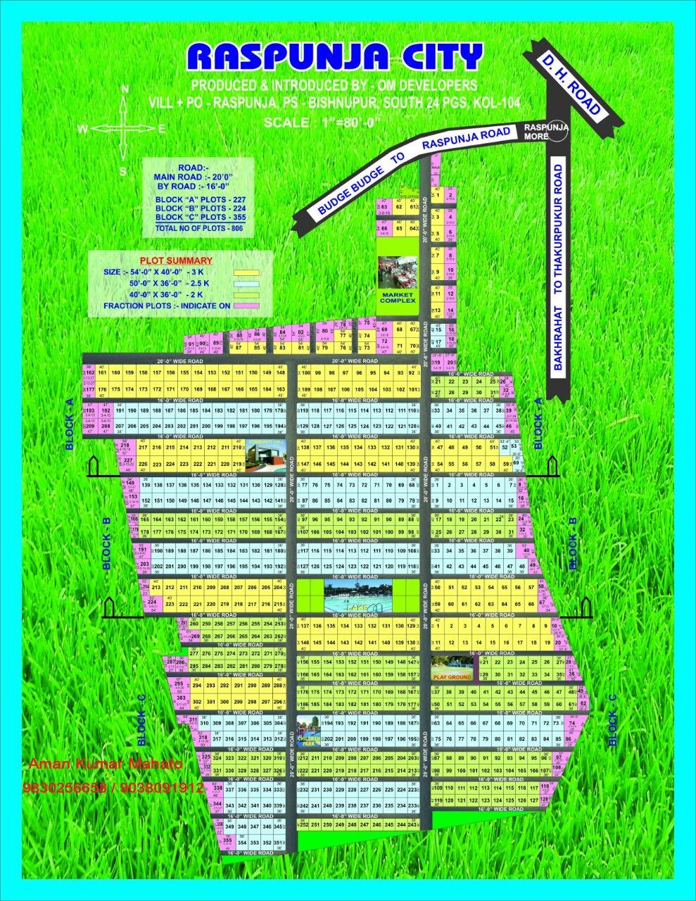 Buy dream home in Rspunja Budge budge road Kolkata.