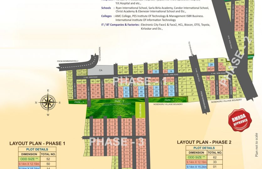 layout at Brinda Imperial